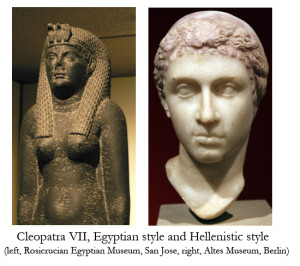 Cleopatra Egyptian and Hellenistic copy